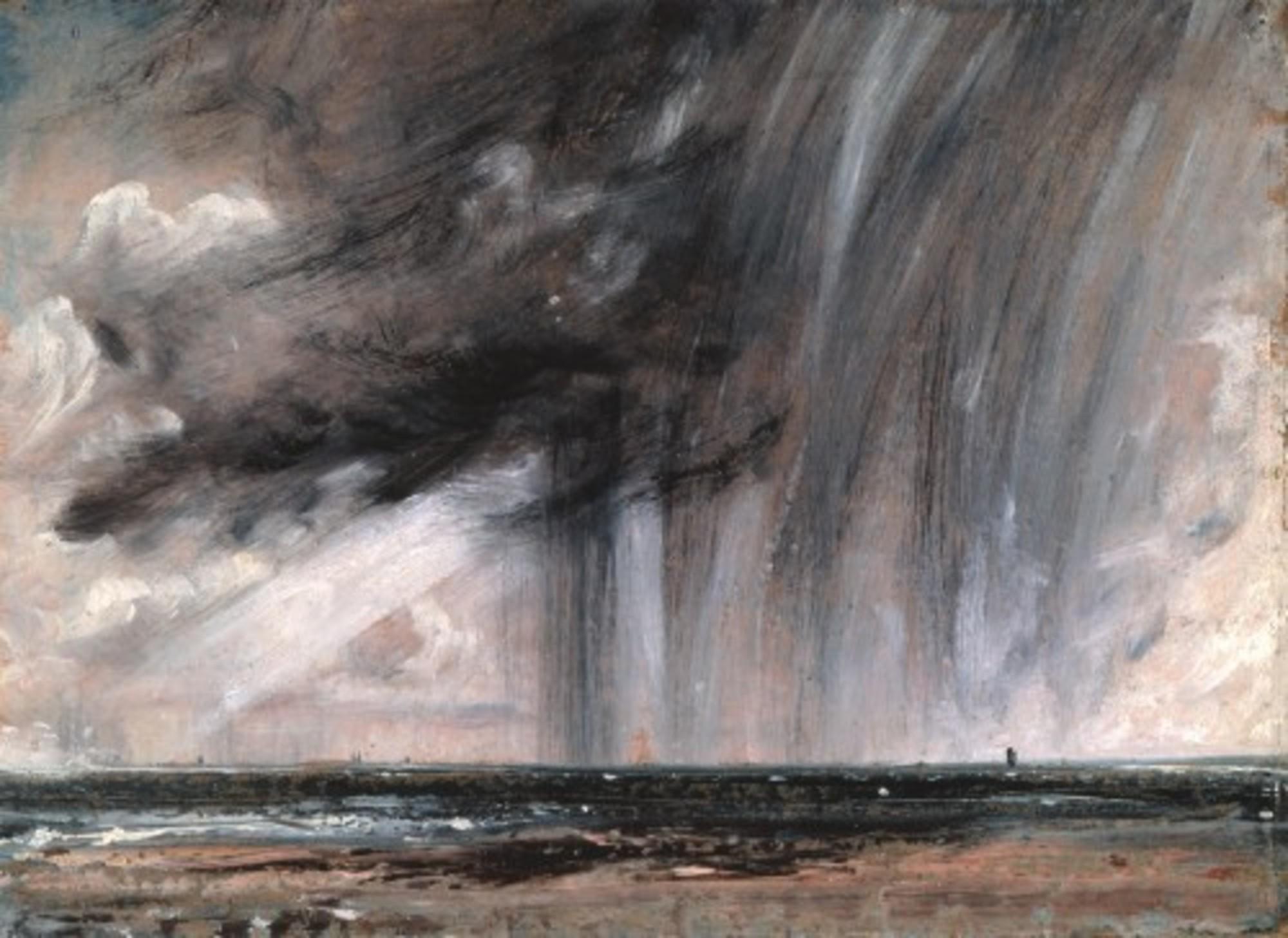 Constable Seascape Study with Rain Cloud