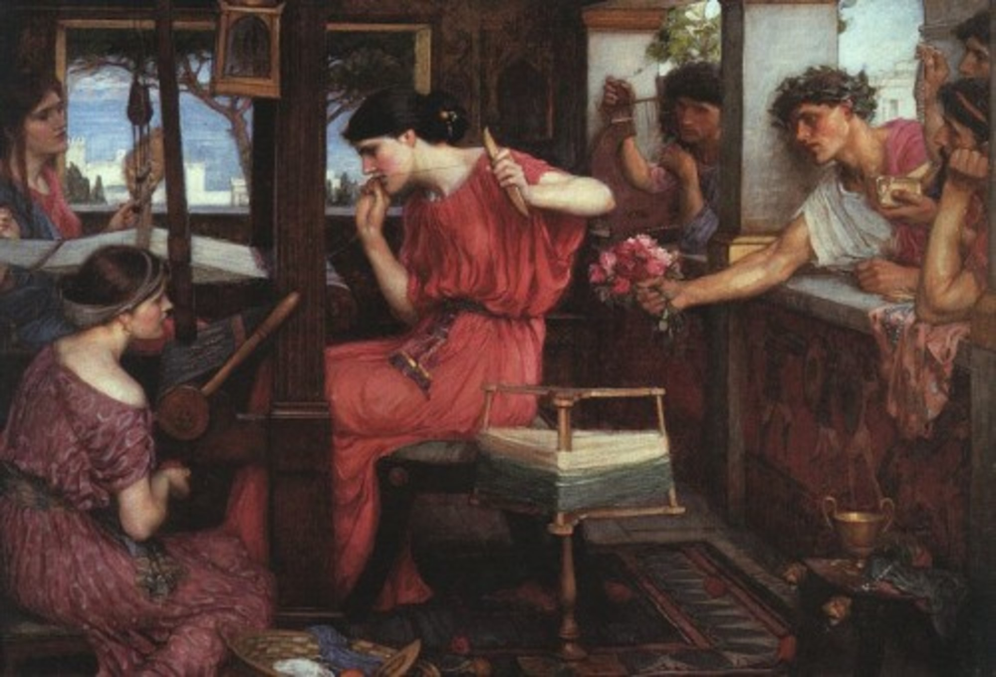 JohnWilliamWaterhouse-PenelopeandtheSuitors1912.jpg