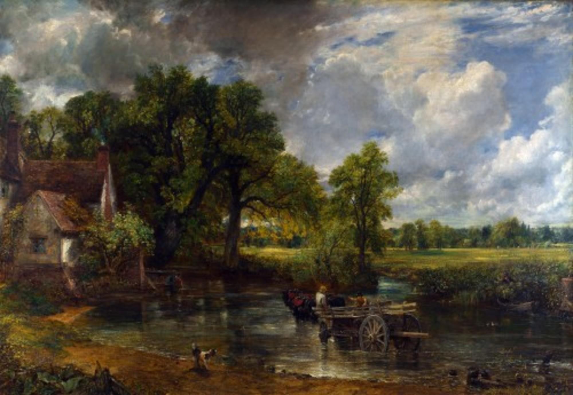 John Constable The Hay Wain (1821)