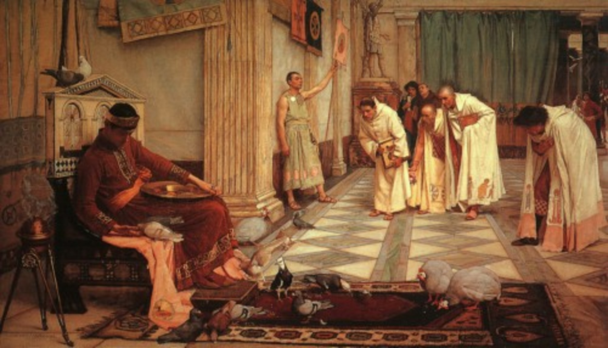 John_William_Waterhouse_-_The_Favorites_of_the_Emperor_Honorius_-_1883.jpg