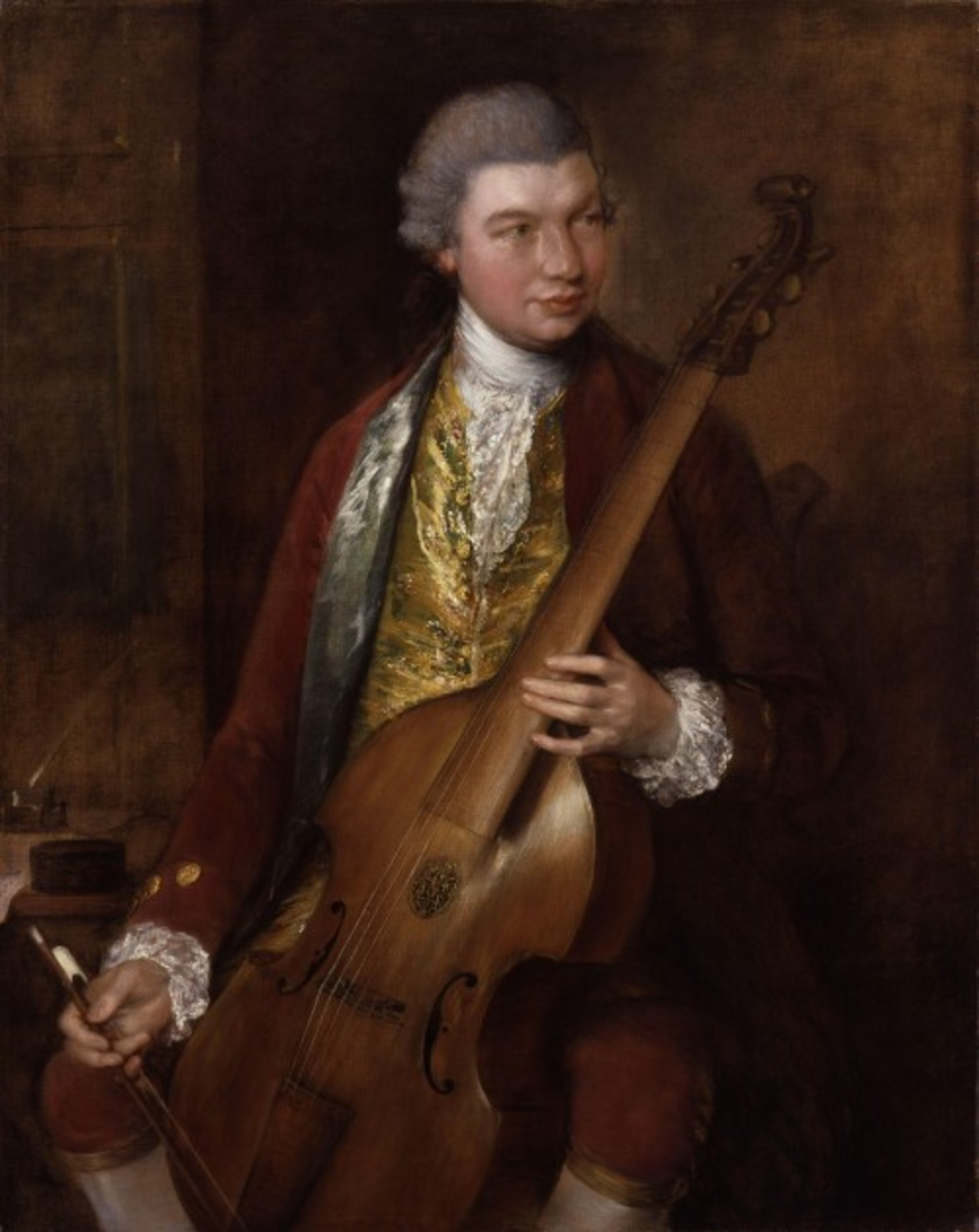 Karl Friedrich Abel by Thomas Gainsborough
