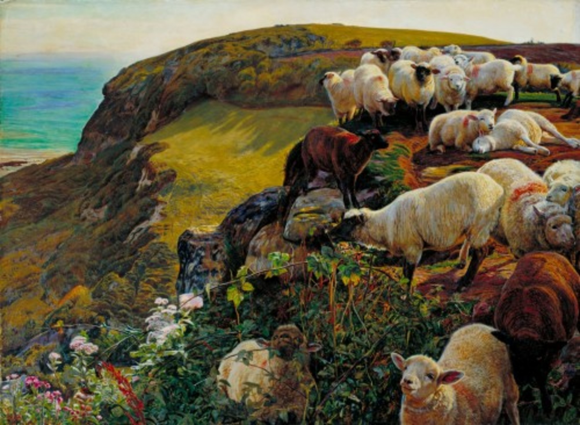 William-Holman-Hunt---Our-English-Coasts-1852-Strayed-Sheep-Tate-Britain.jpg