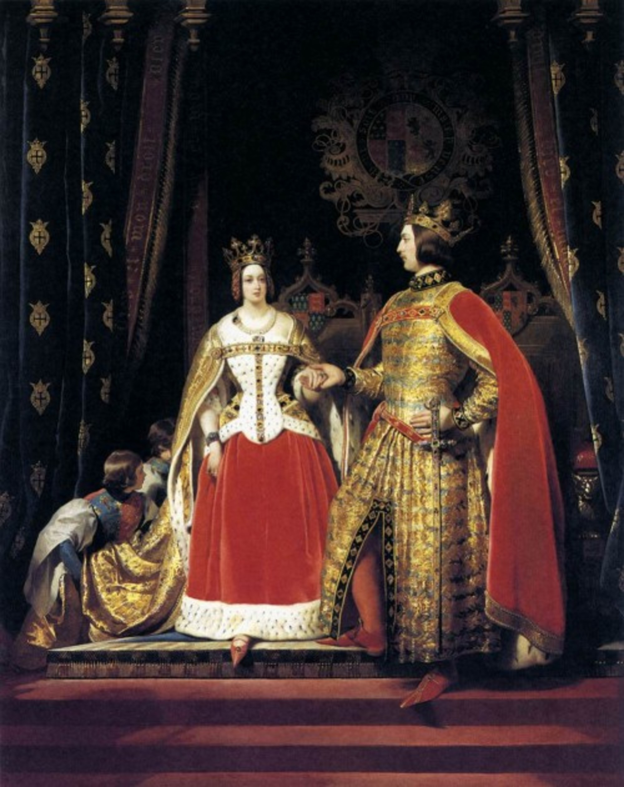 Edwin-Landseer---Queen-Victoria-and-Prince-Albert-at-the-Bal-Costume-of-12-May-1842---WGA12439.jpg