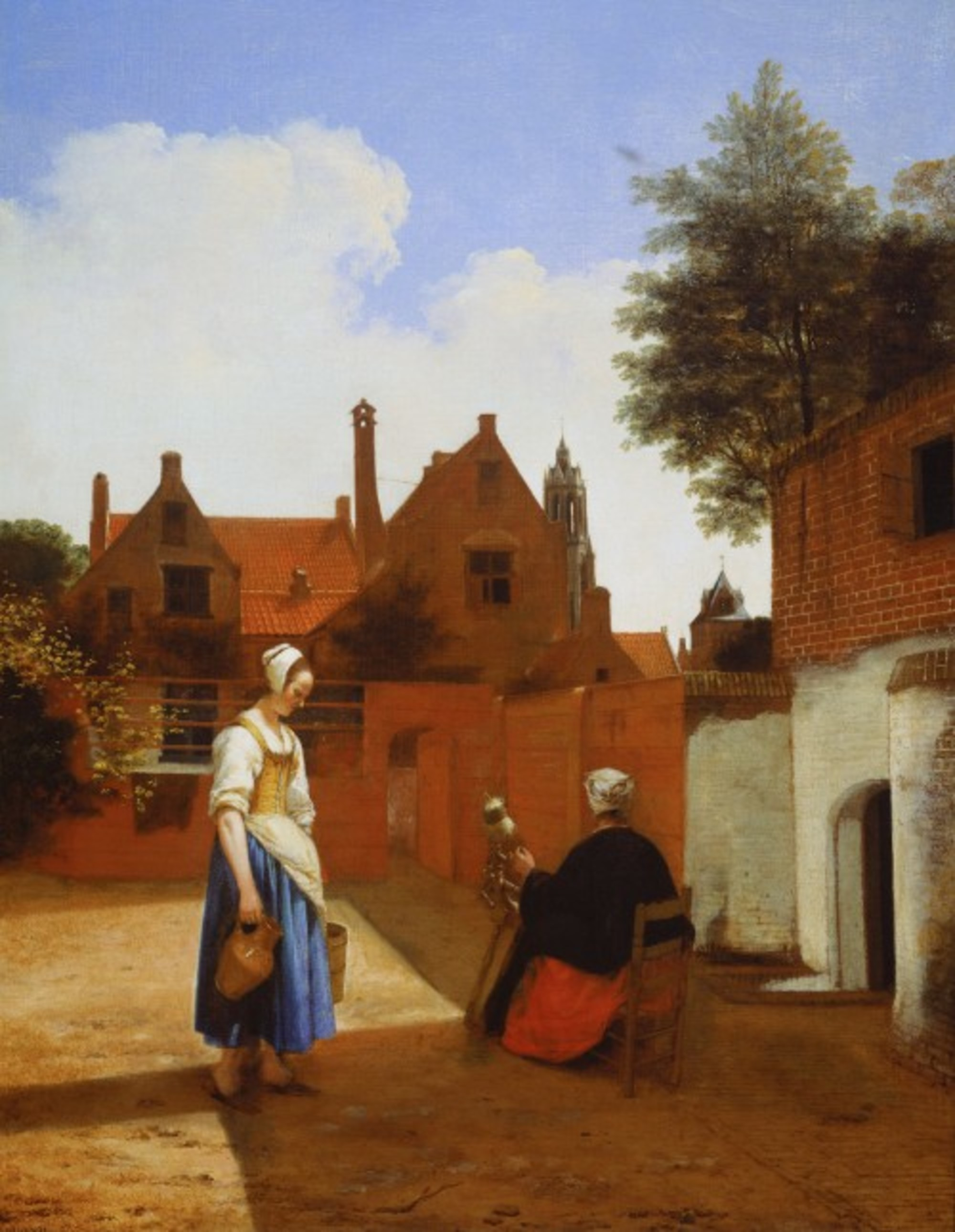 Pieter-de-Hooch---Courtyard-in-Delft-at-Evening--a-Woman-Spinning---Google-Art-Project.jpg