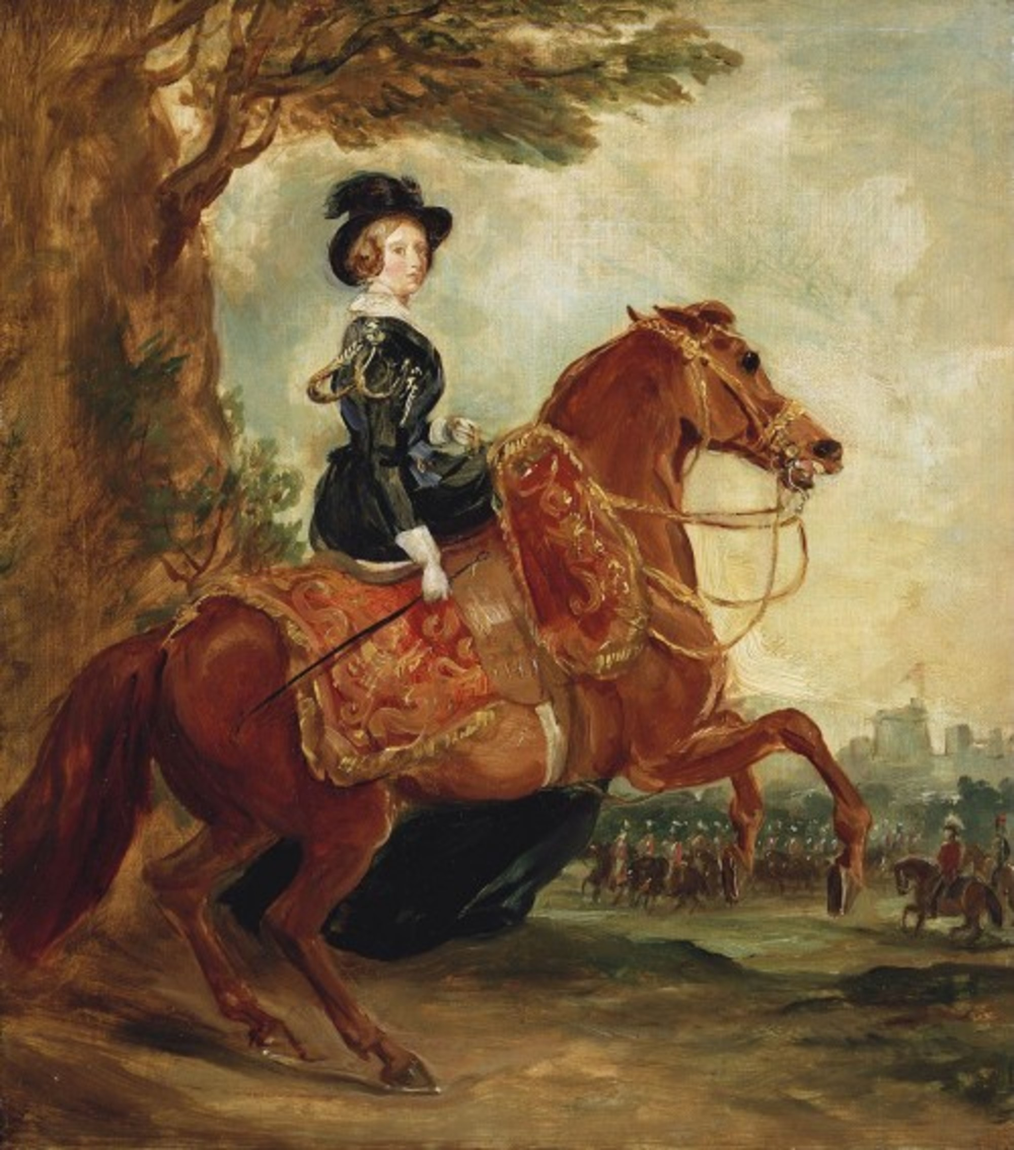 Queen-Victoria-on-horseback---Grant-1845.jpg