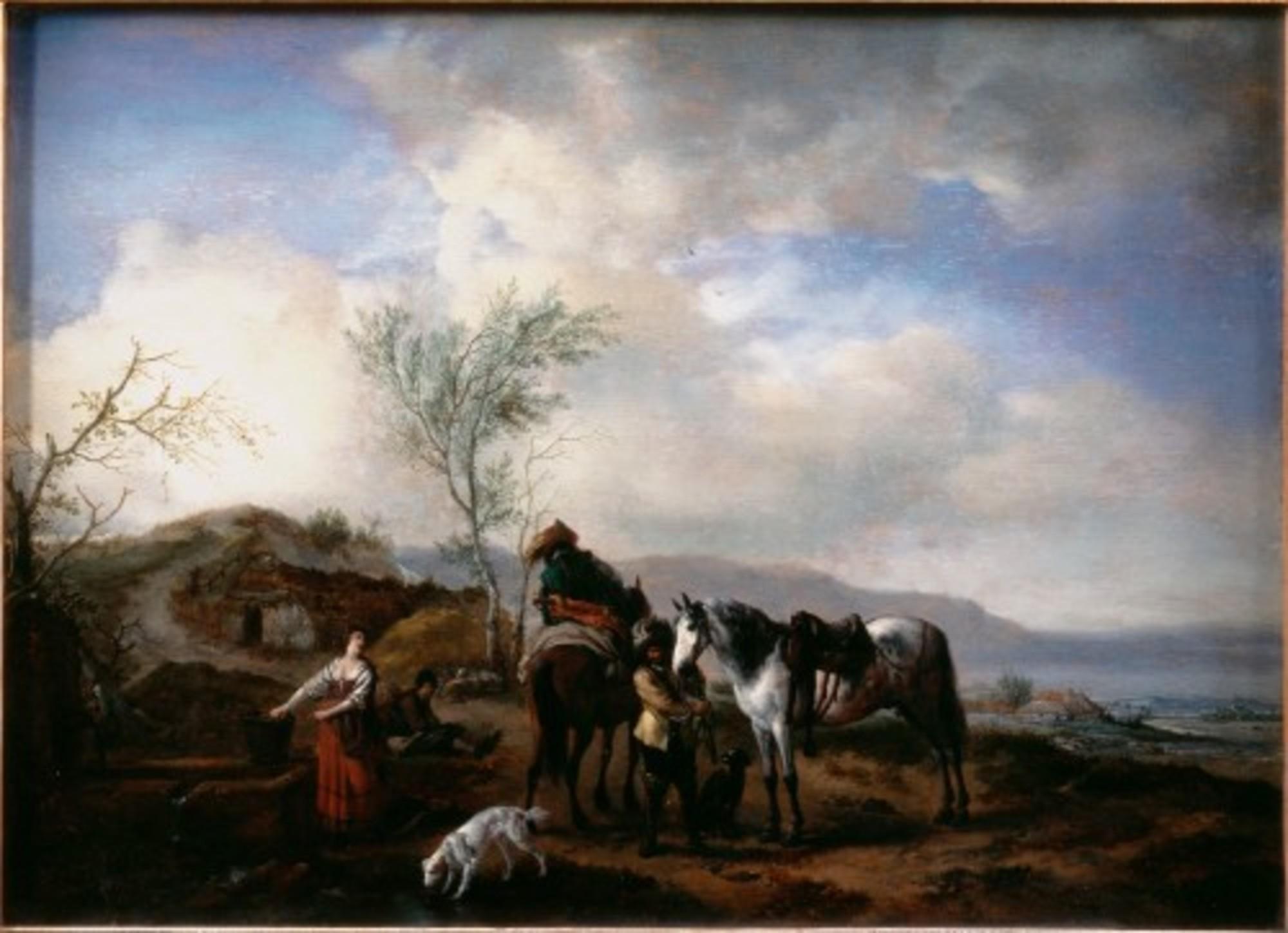 Wouwerman-Philips---Two-Horsemen-near-a-Fountain---Google-Art-Project.jpg