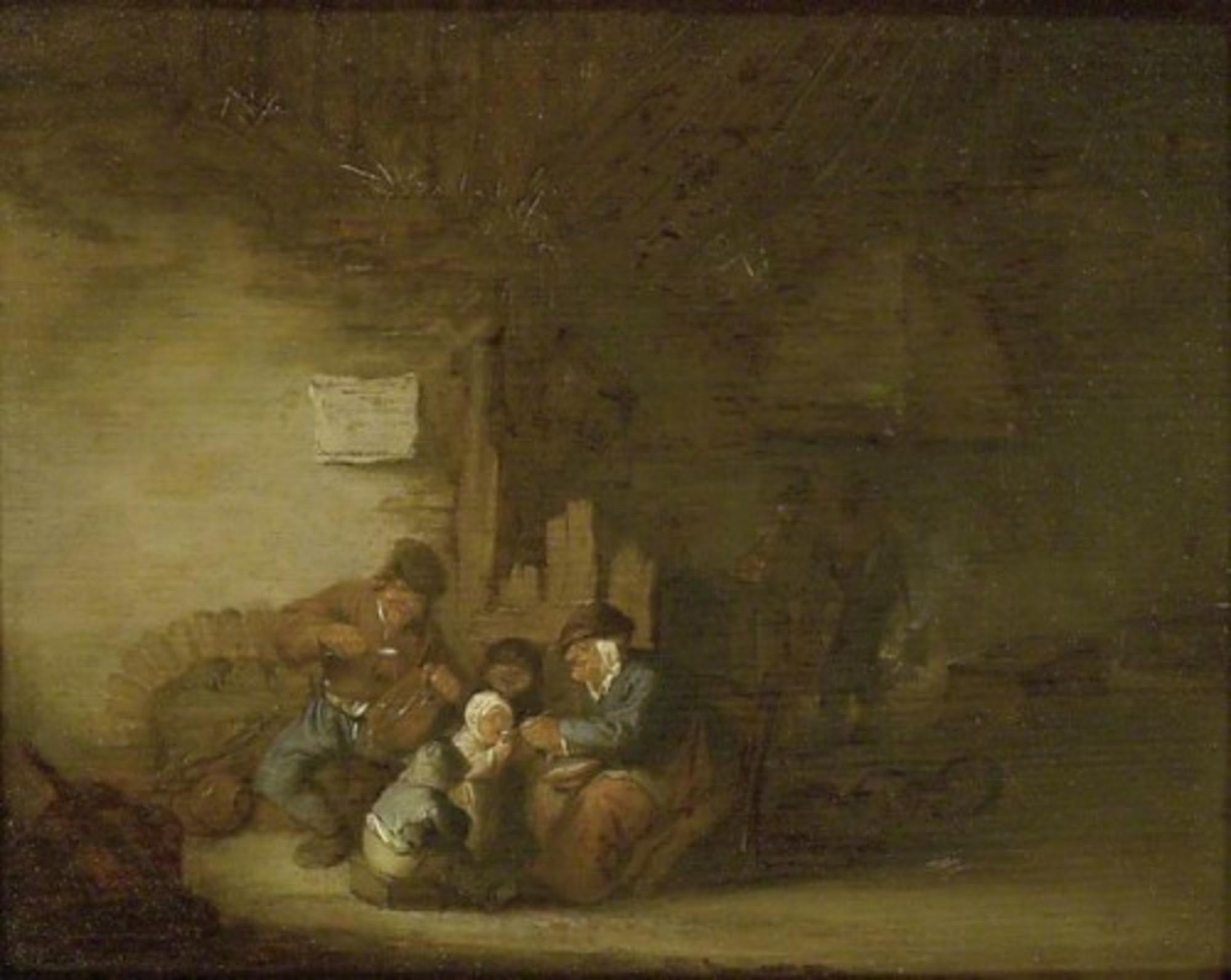 Adriaen-van-Ostade---A-Peasant-Family-eating-in-an-Interior-ASH-ASHM-WA1851-24.jpg