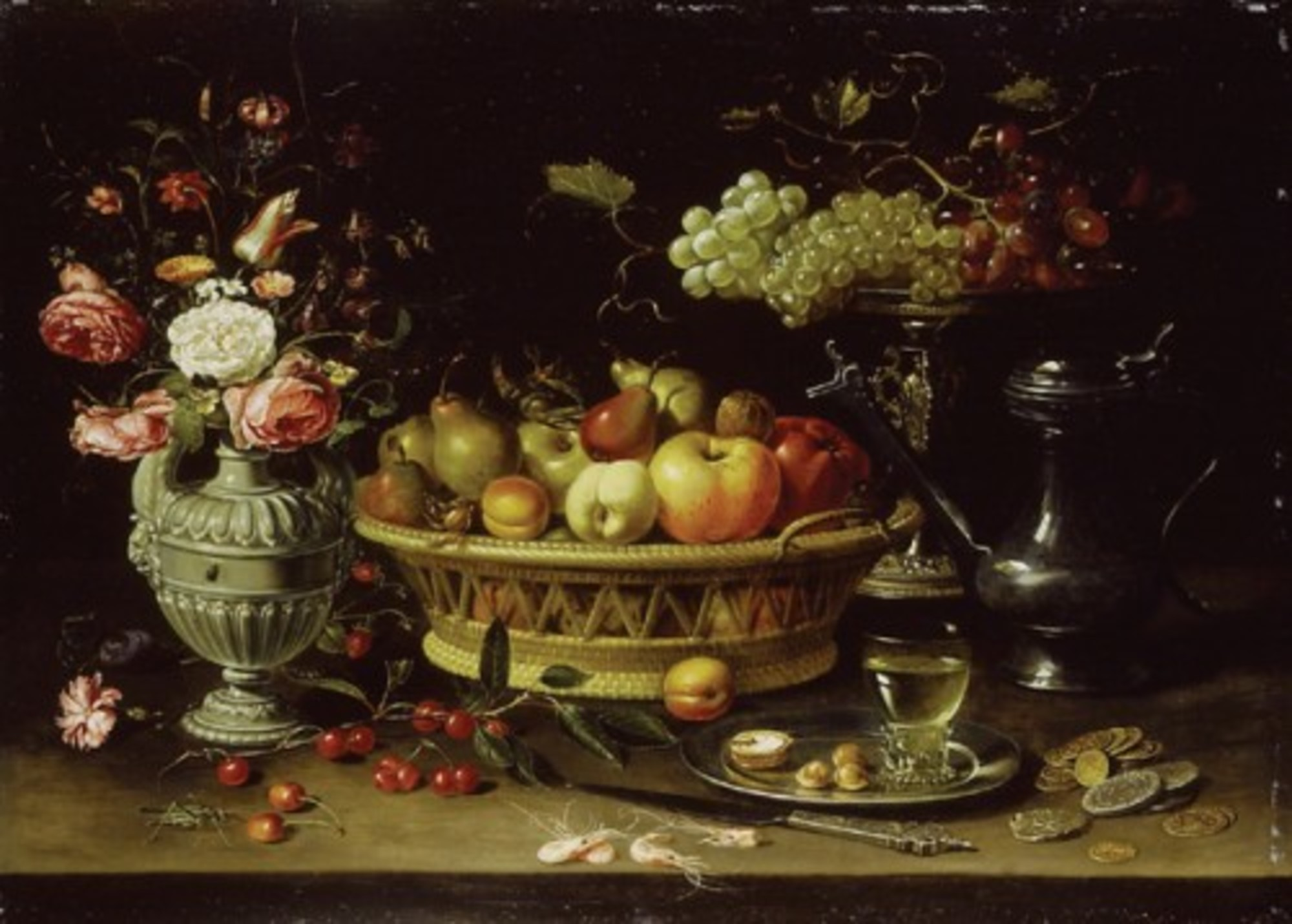 Clara-Peeters---basket-of-fruit-with-a-tazza-holding-grapes-a-bouquet-of-flowers-and-a-flagon-WA1940.2.61.jpg
