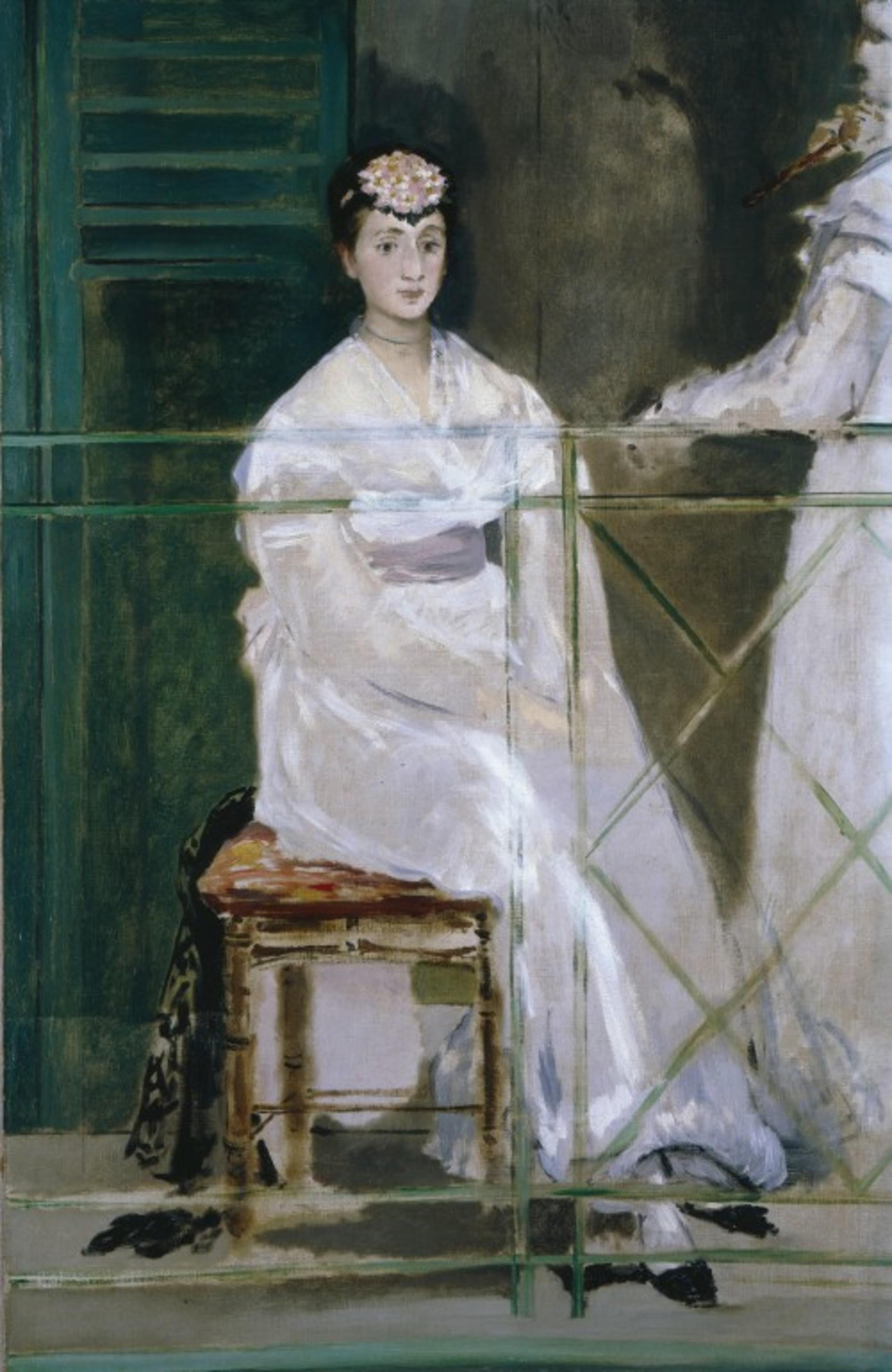 Edouard Manet Portrait of Mademoiselle Claus
