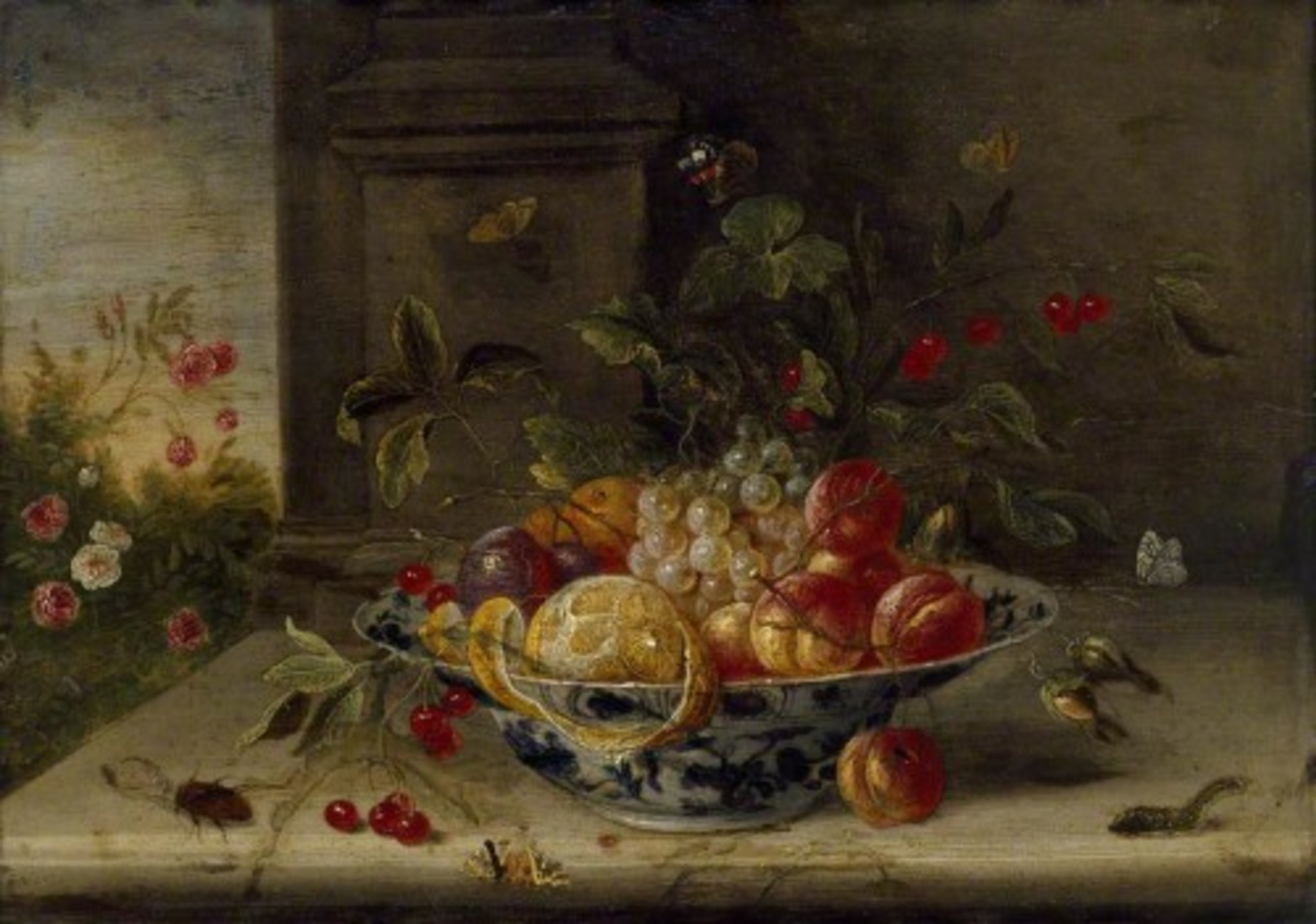 Jan-van-Kessel-the-Elder---Decorative-Still-Life-Composition-with-a-porcelain-Bowl-Fruit-and-Insects.jpg