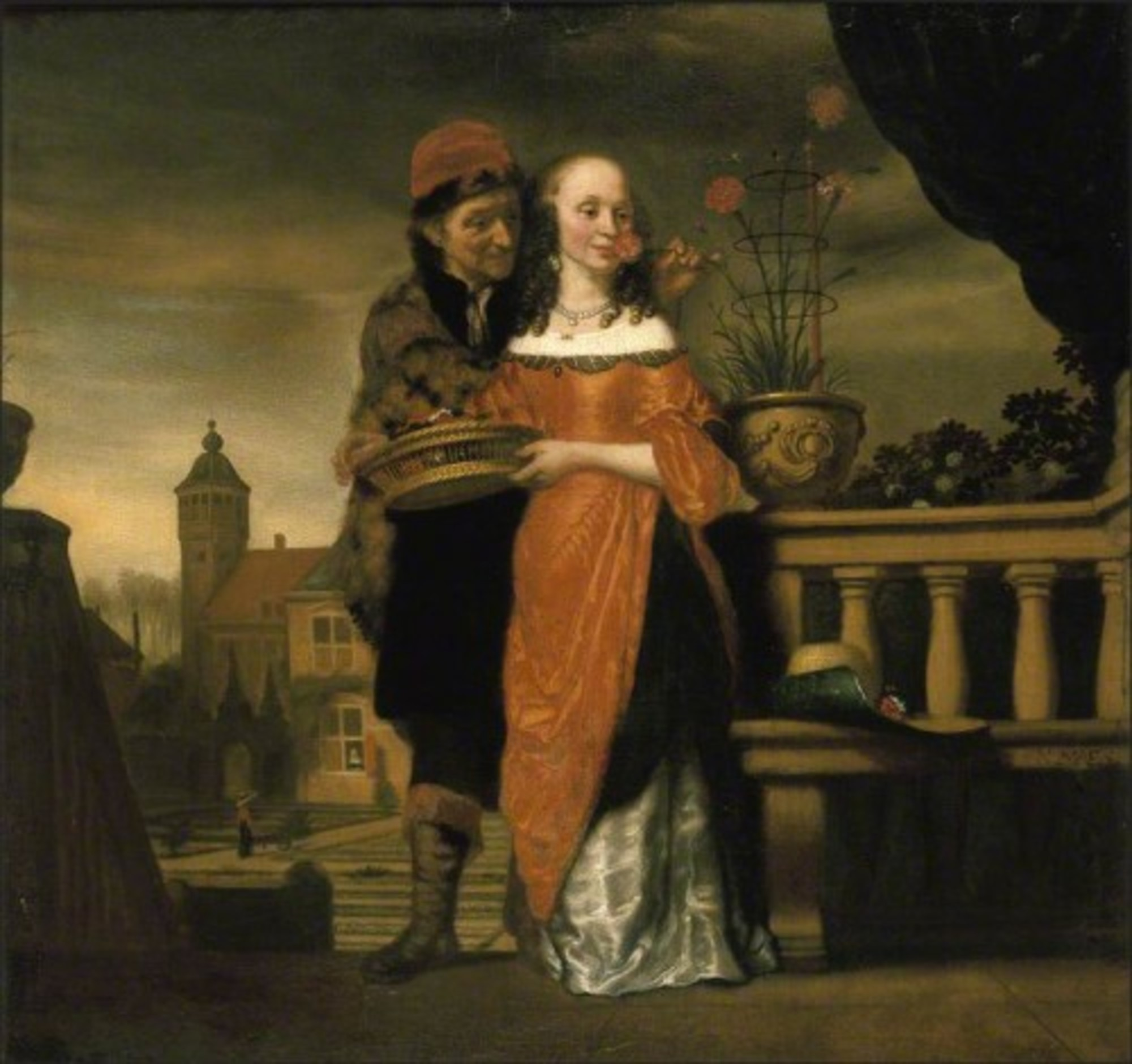 Nicolaes-Maes---Man-holding-a-carnation-to-a-womans-nose-an-allegory-of-the-sense-of-smell.jpg