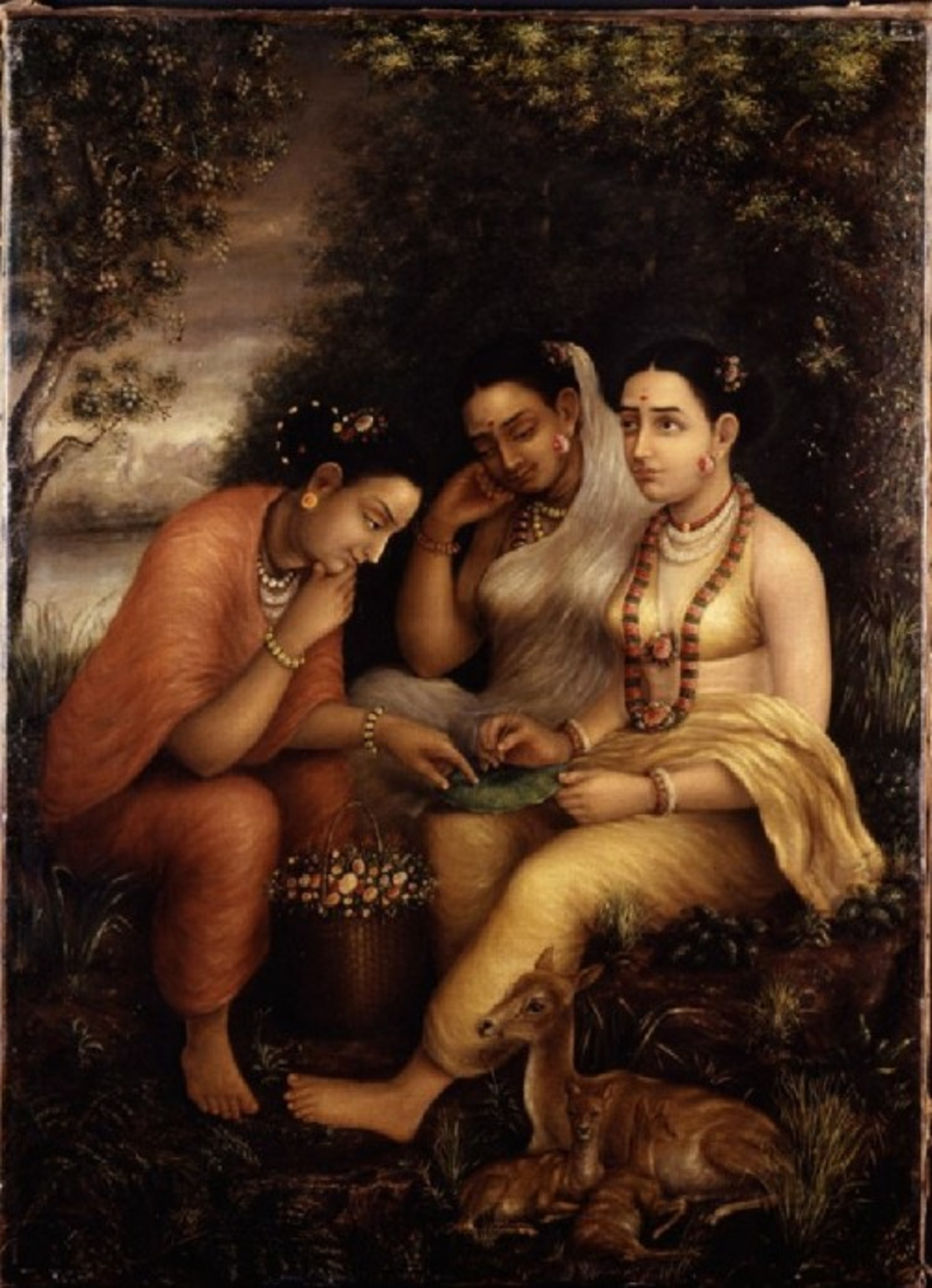 Raja-Ravi-Varma---Shakuntala-writing-a-love-letter-on-a-lotus-leaf.jpg