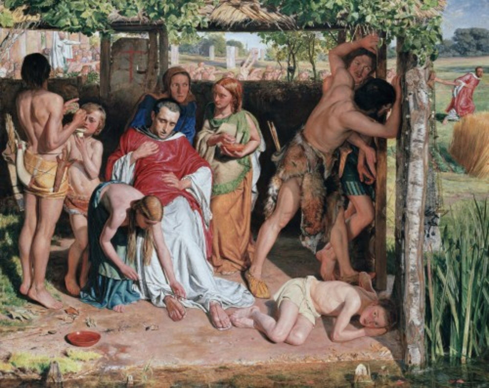 William Holman Hunt A Converted British Family