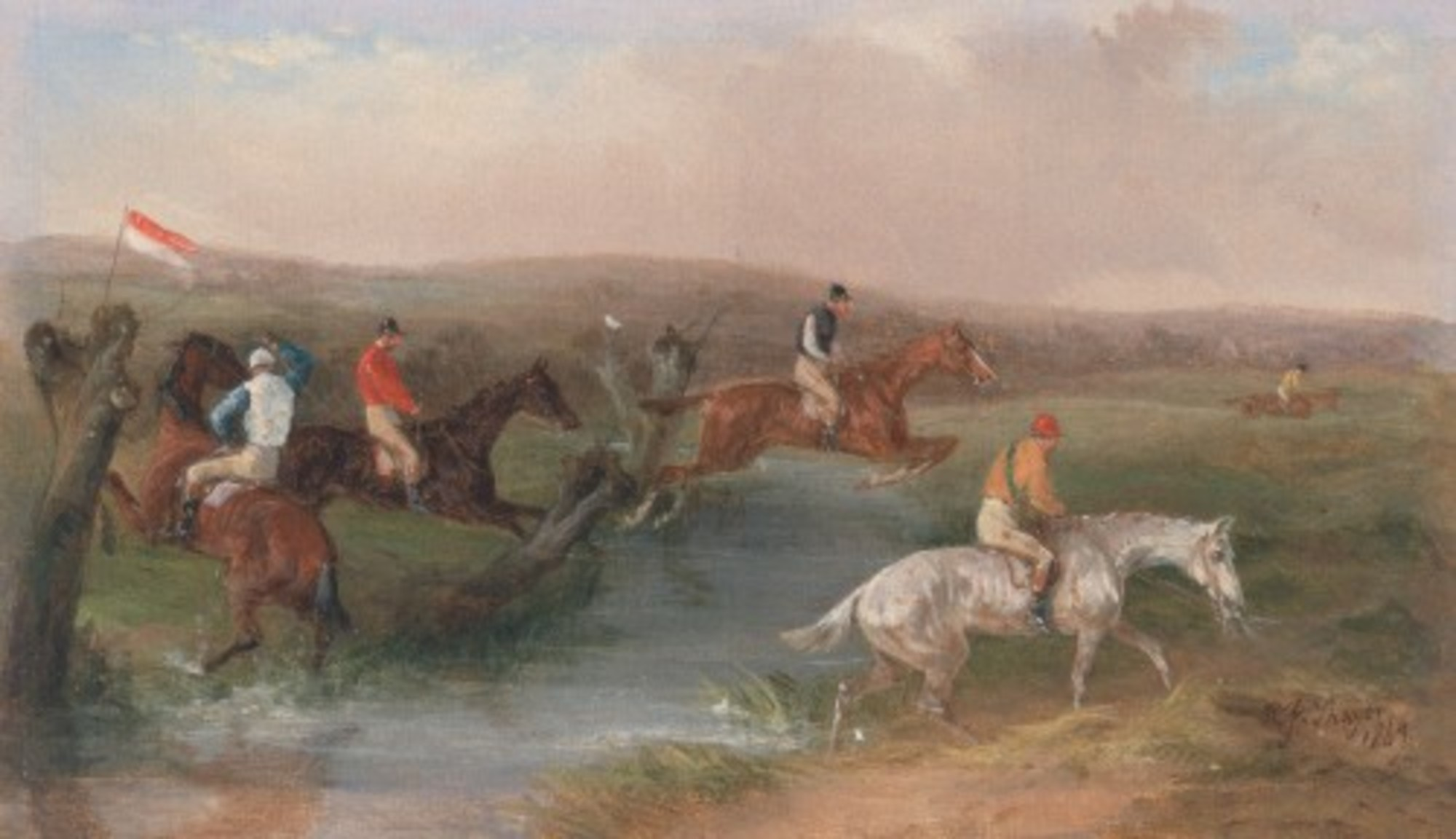 William-J.-Shayer---Steeplechasing--The-Hurdle---Google-Art-Project.jpg