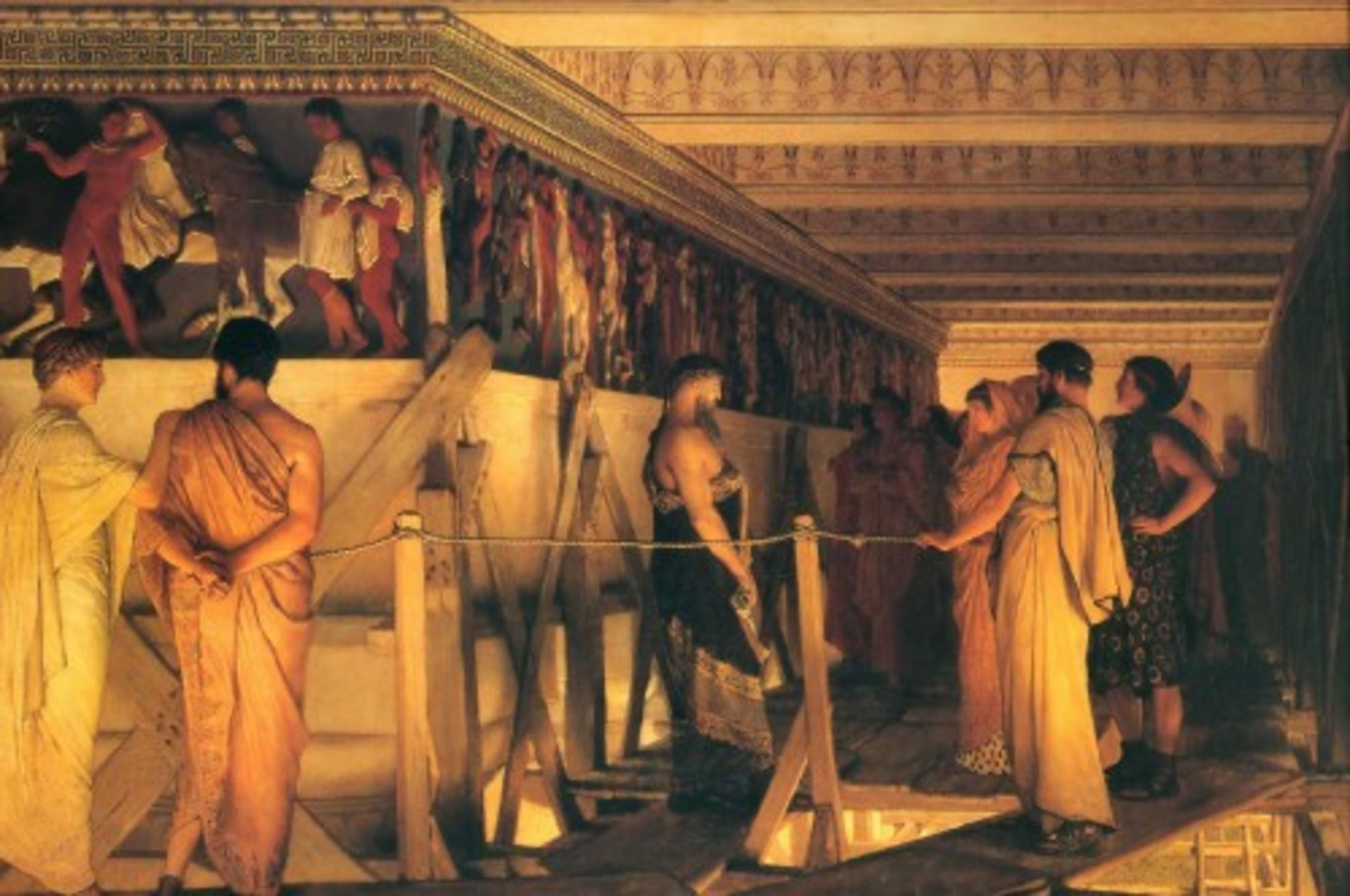 1868-Lawrence-Alma-Tadema---Phidias-Showing-the-Frieze-of-the-Parthenon-to-his-Friends.jpg