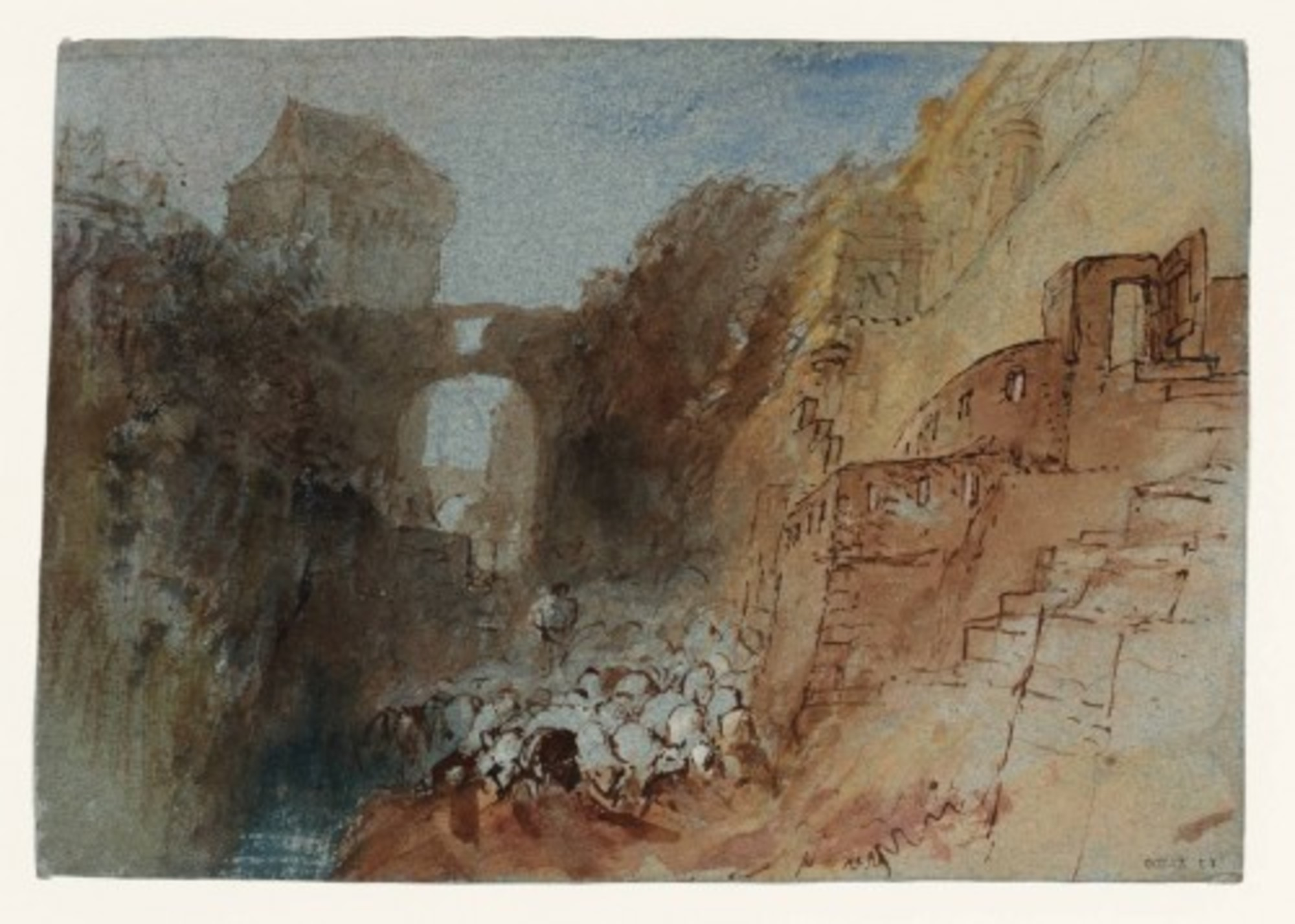 A-Herd-of-Sheep-at-Saumur-Below-the-Walls-of-the-Chateau-with-the-Tour-de-Papegault-to-the-Left-1826-28.jpg