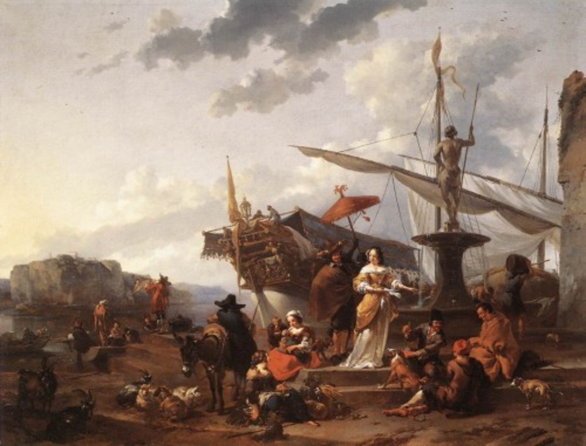 A-Southern-Harbour-Scene-by-Nicolaes-Pieterszoon-Berchem.jpg