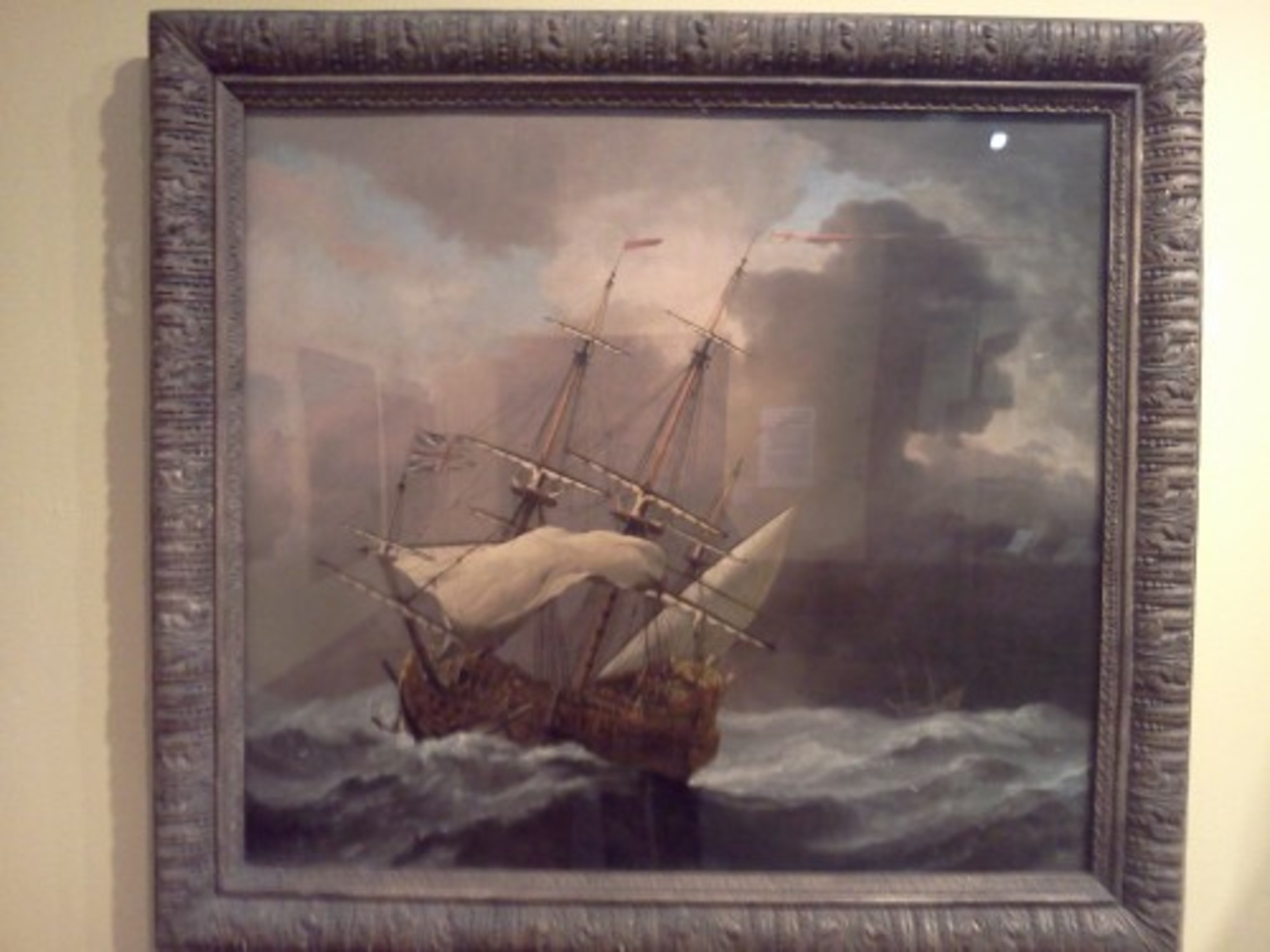 An-English-Man-o-War-in-a-Gale---Willem-van-de-Velde-the-younger---Birmingham-Museum-and-Art-Gallery-March-2012.jpg