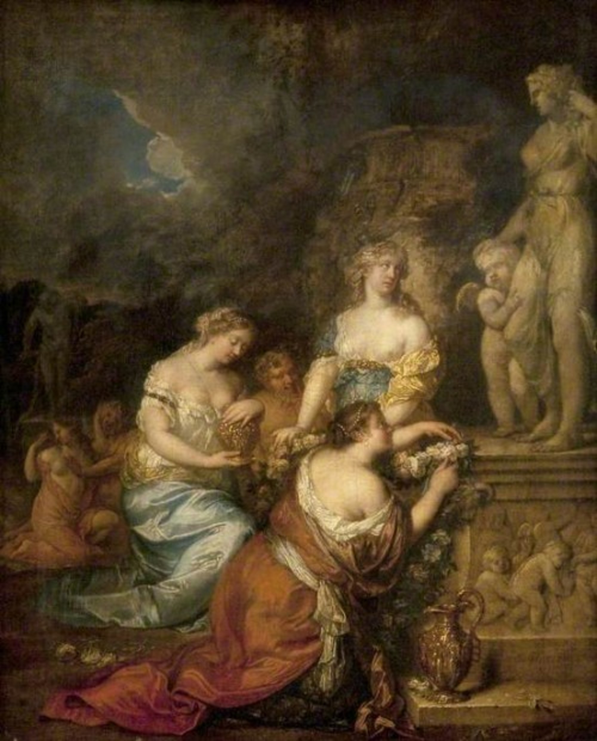 Caspar-Netscher---Nymphs-Laying-Offerings-before-a-Statue-of-Venus-and-Cupid-GL-GM-80-001.jpg