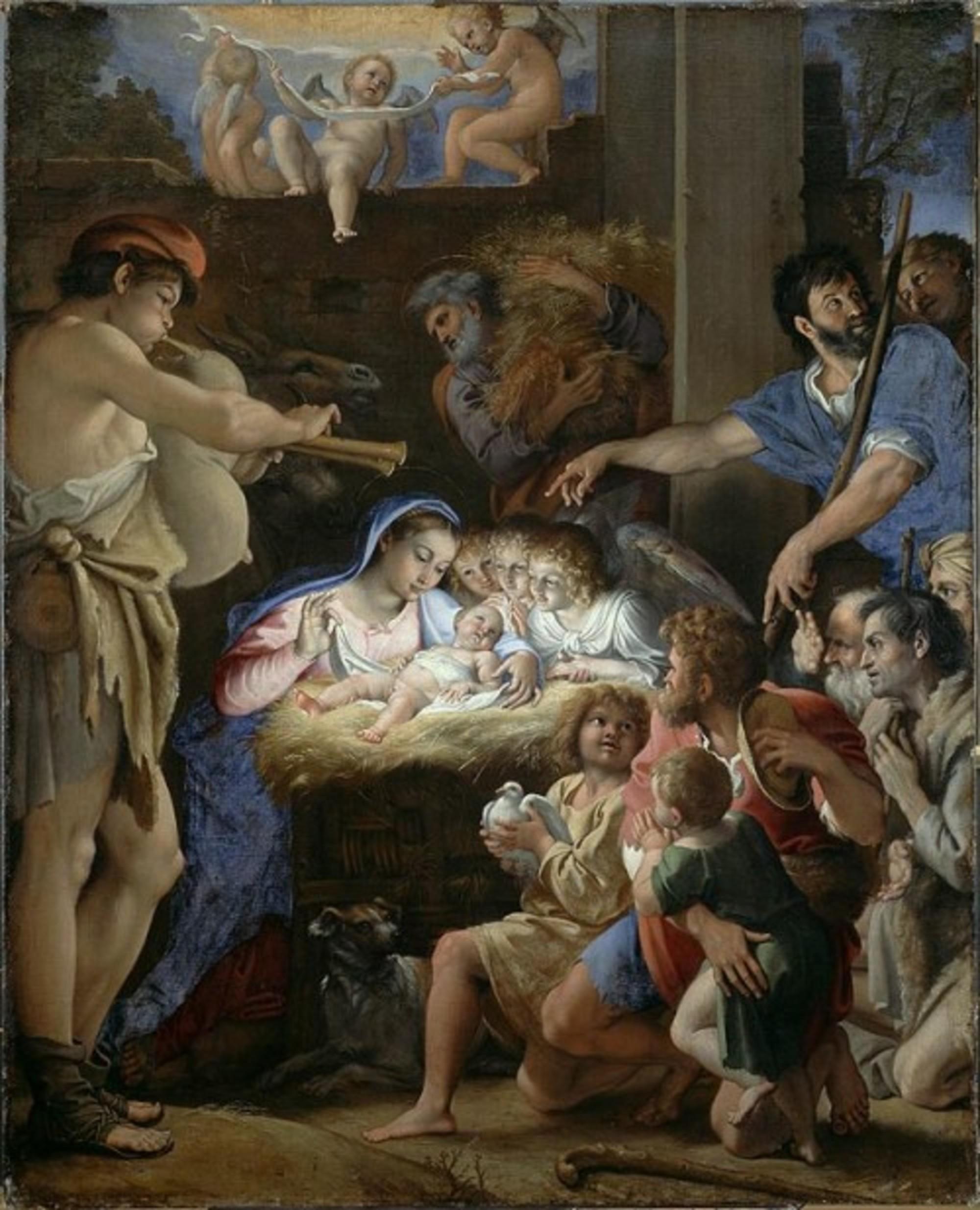 Domenichino-Domenico-Zampieri-The-Adoration-of-the-Shepherds-c.-1607-10-Oil-on-canvas-143-x-115cm-National-Gallery-of-Scotland.jpg