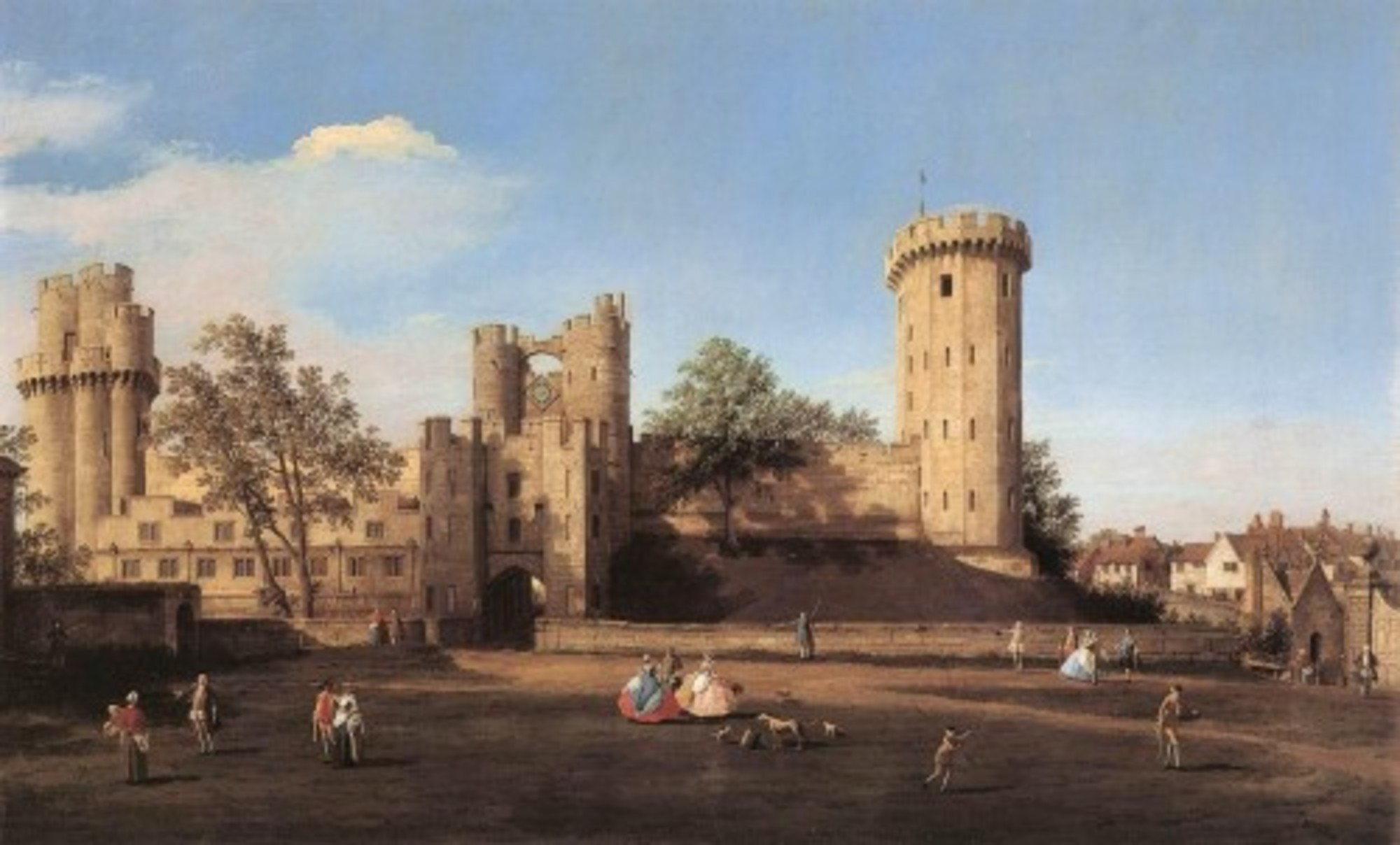 Giovanni-Antonio-Canal-il-Canaletto---Warwick-Castle---the-East-Front---WGA03951.jpg