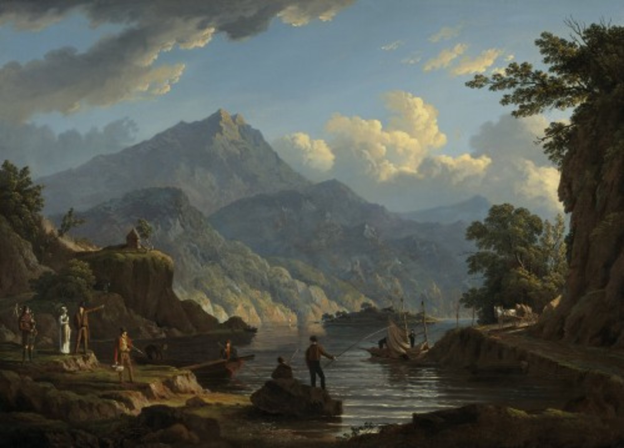 John-Knox---Landscape-with-Tourists-at-Loch-Katrine---Google-Art-Project.jpg