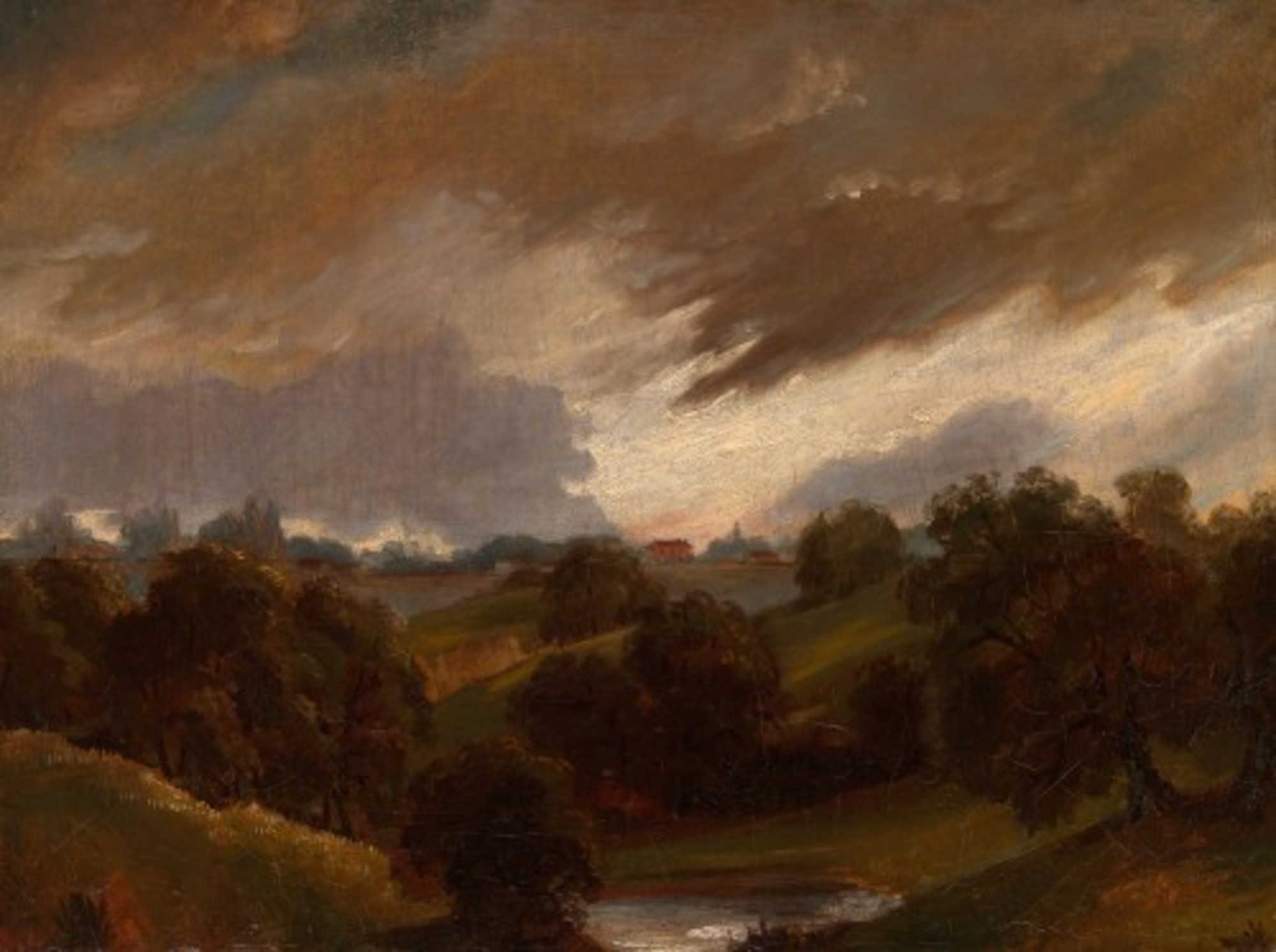 John Constable Hampstead, Stormy Sky 1974.387 Art Institute of Chicago