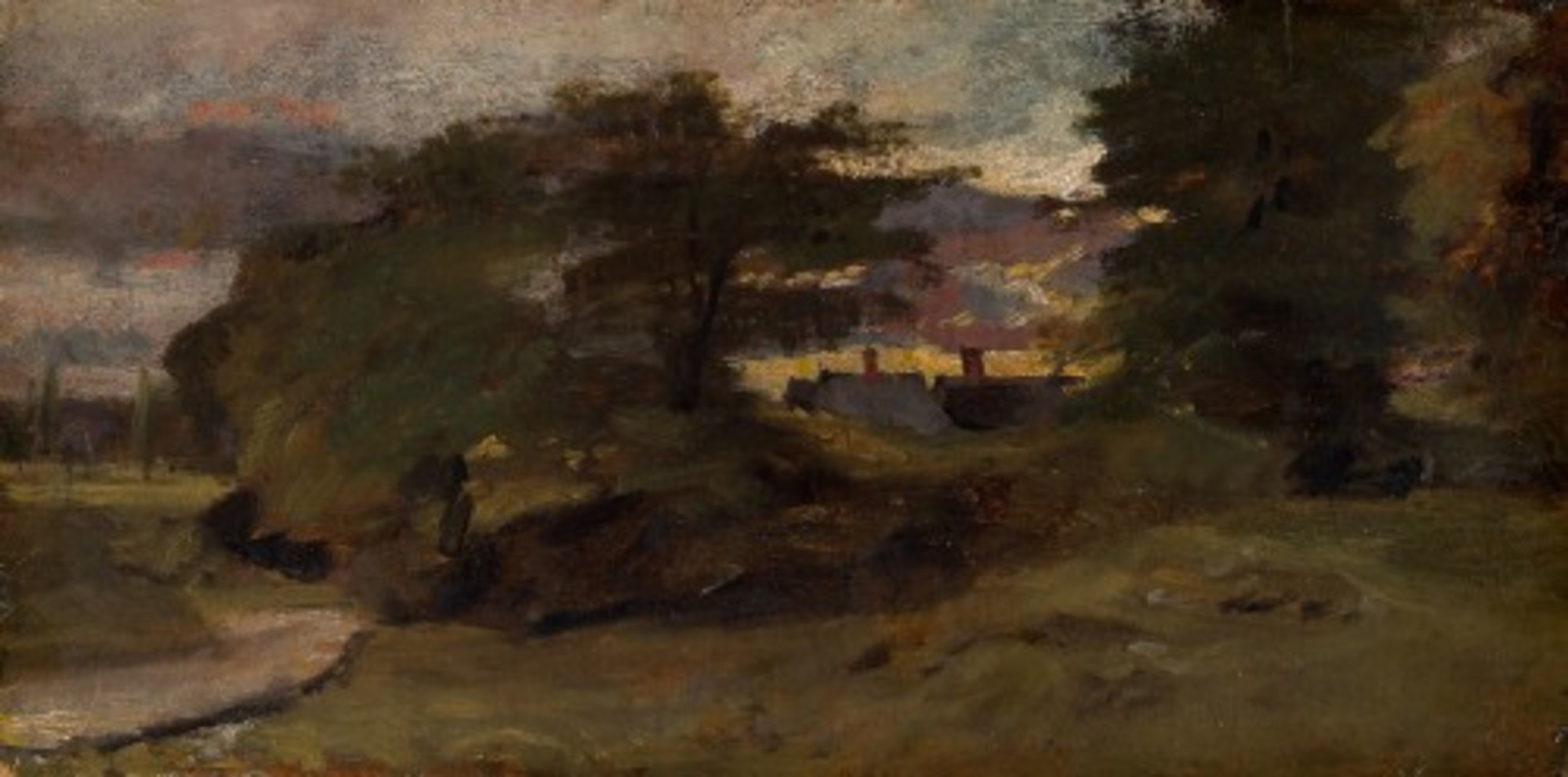 John Constable Landscape with Cottages 1944.1 Art Institute of Chicago