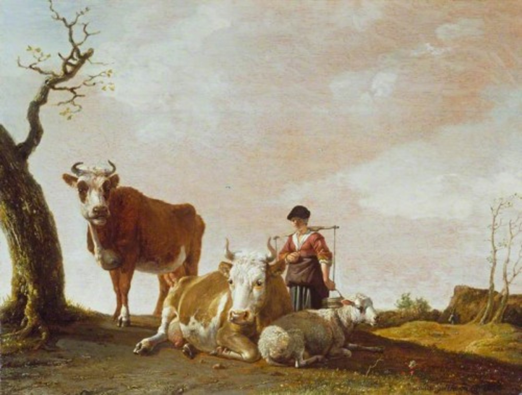 Paulus-Potter---The-Milkmaid-WLC-WLC-P219.jpg