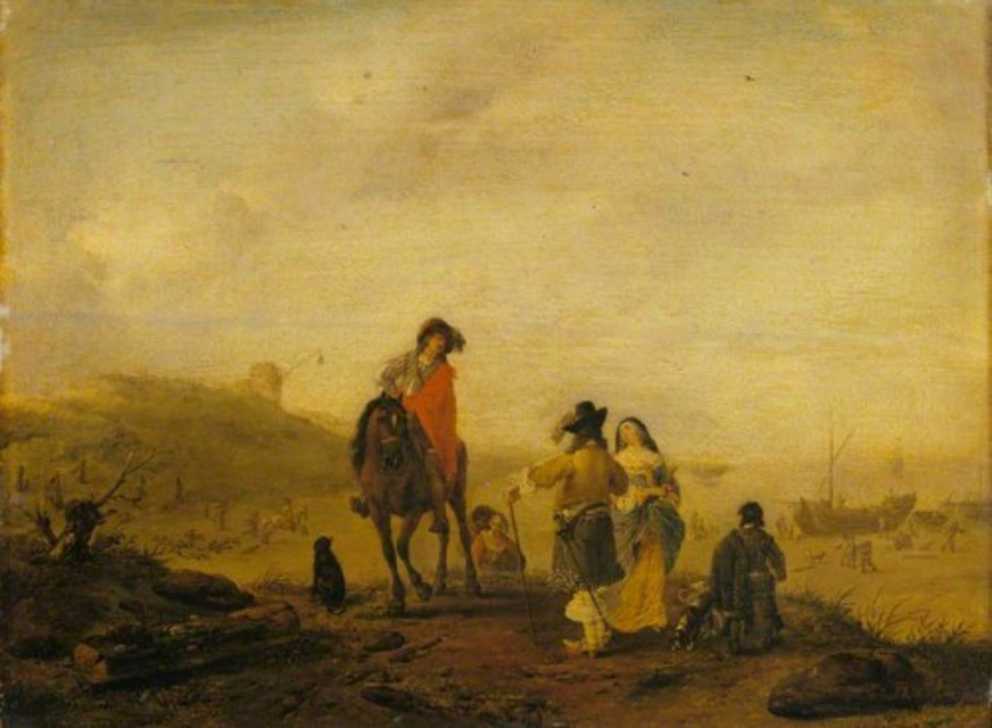 Philips-Wouwerman---A-Conversation-by-the-Sea-WLC-WLC-P187.jpg