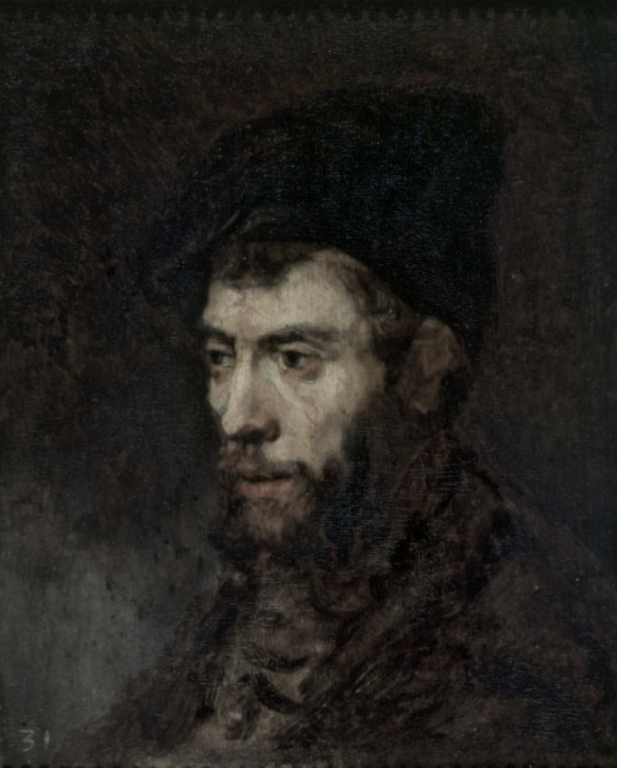Rembrandt Portrait of a Man (Scotland)
