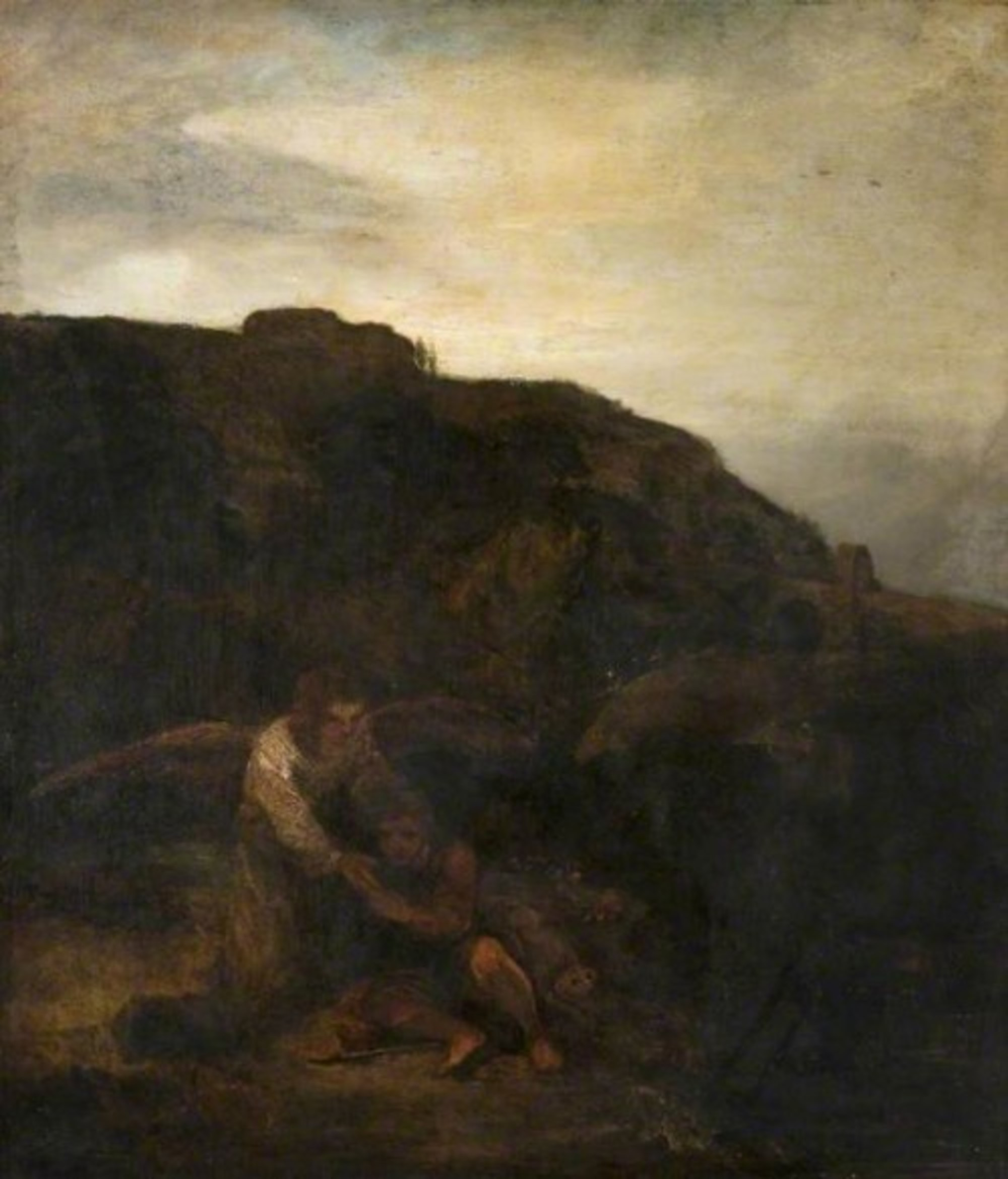 Rembrandt-follower---Tobias-and-the-Angel-in-a-Landscape.jpg