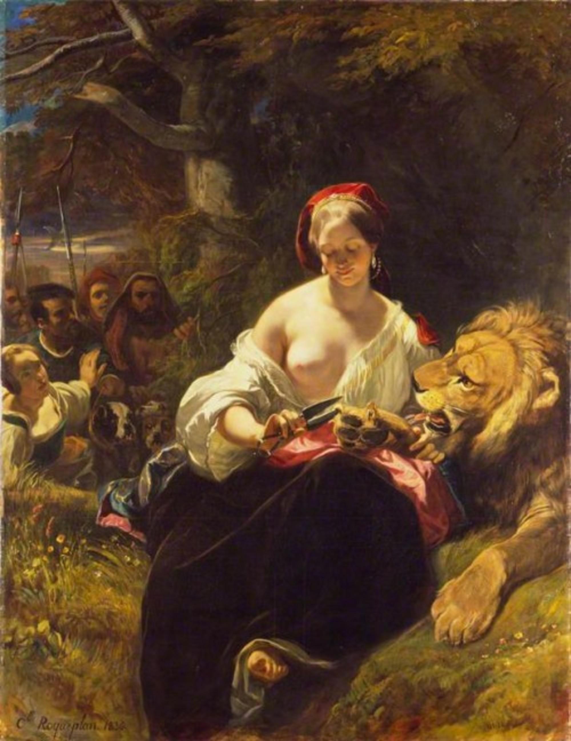 Roqueplan.lion.in.love.wallace.coll.bbc.jpg