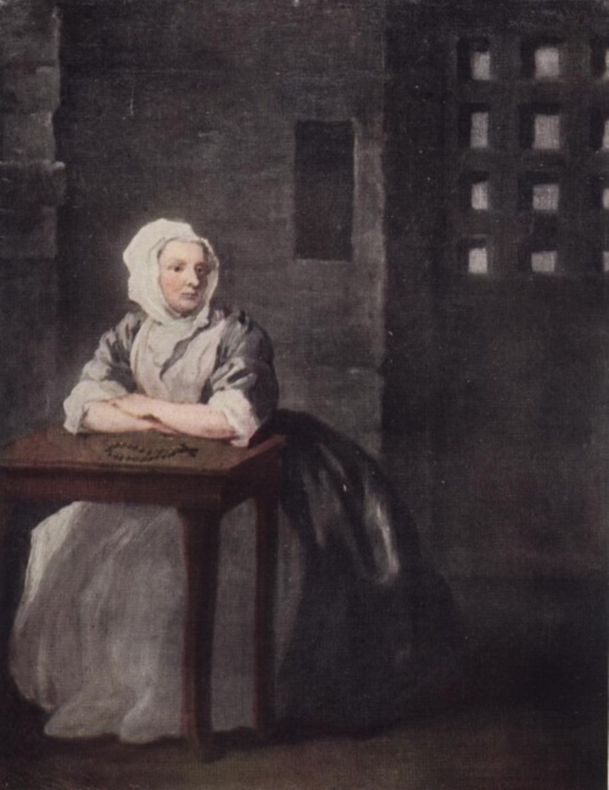 Sarah Malcolm by William Hogarth