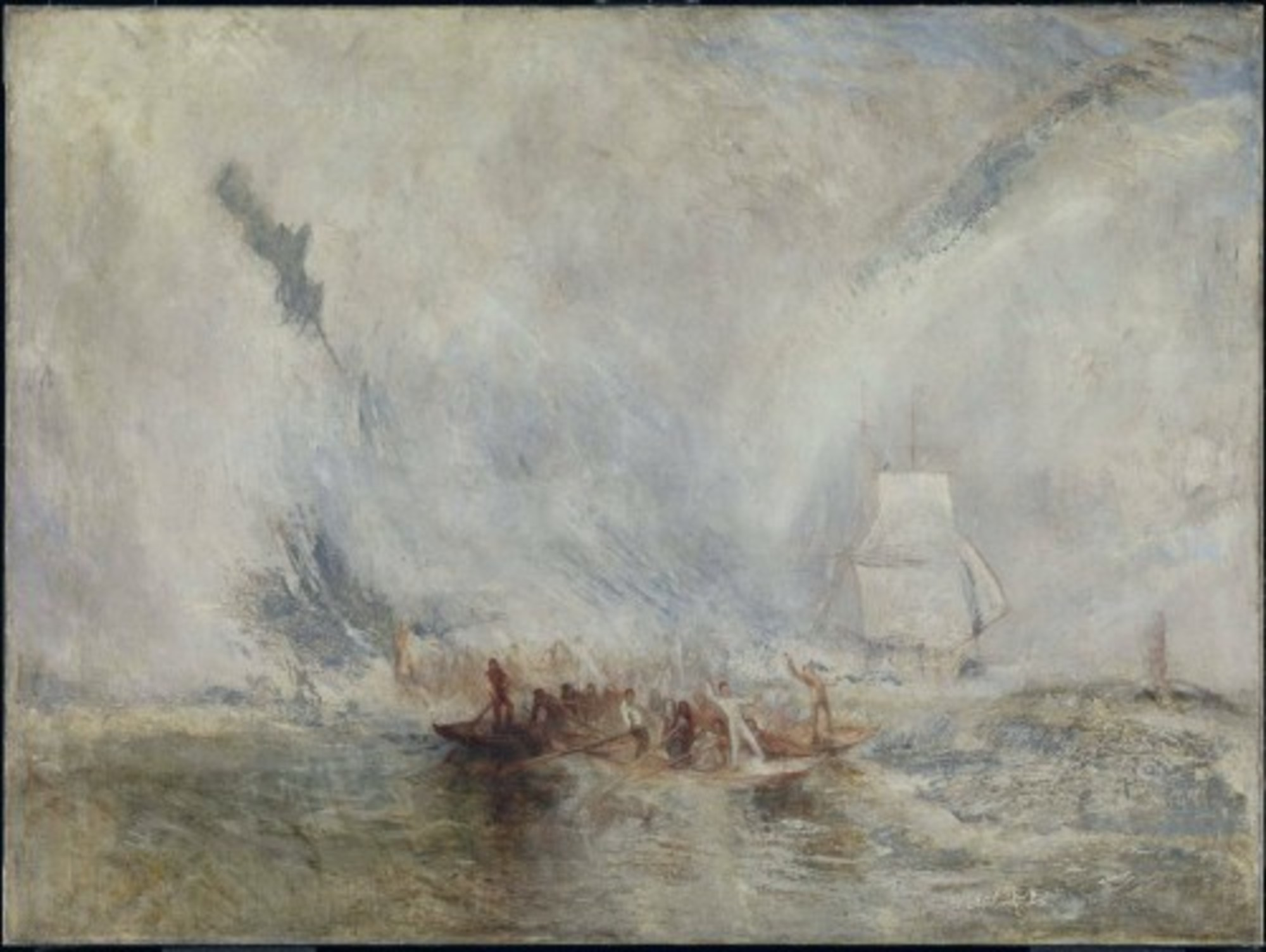 Whalers, 1845