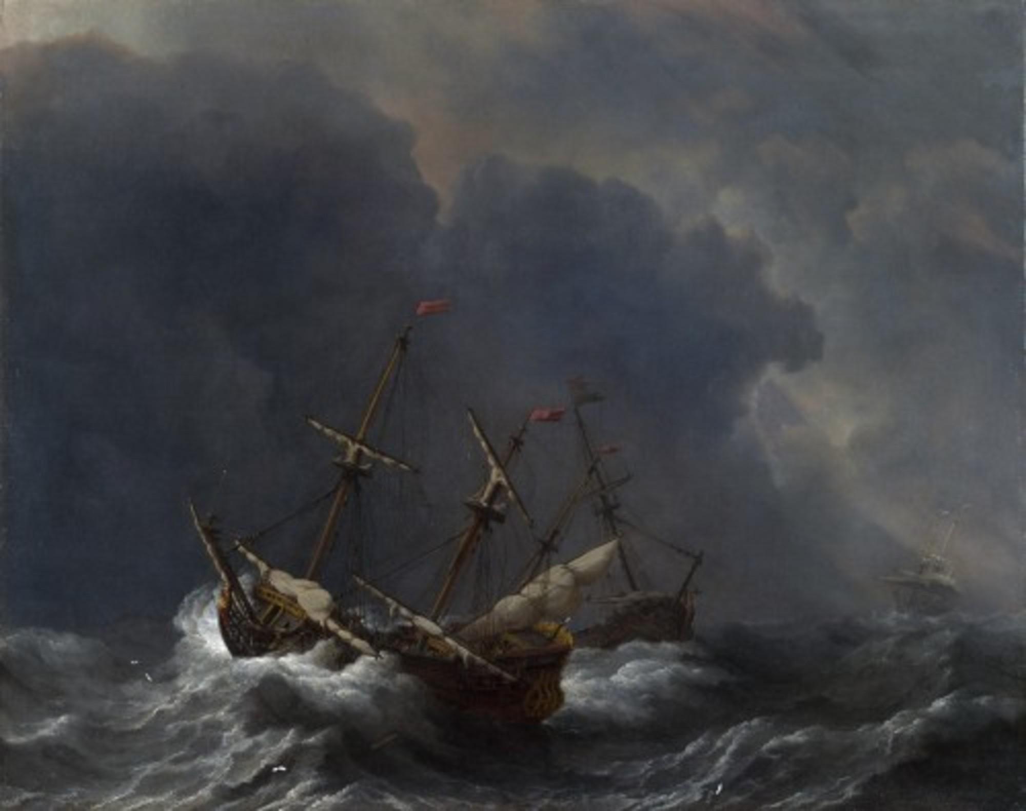 Willem-van-de-Velde-II---Three-Ships-in-a-Gale.jpg