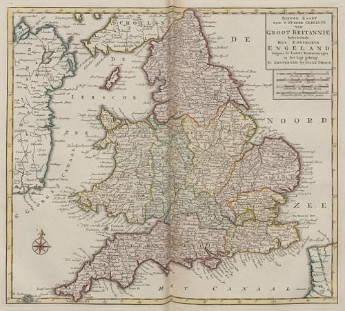 Nieuwe en beknopte hand atlas 1754 UB Radboud Uni Nijmegen 209718609 013 Engeland